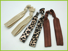 leopard print flat elastic hair band