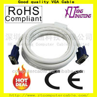 High quality VGA Male to Male Cable 3+6 Bulk Sale