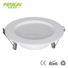 One light three color smd downlight slim recessed led dimmable down lights