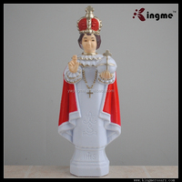 Plastic Hail Mary Figurine Religious Statues