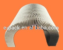Honeycomb paper core as inside cushion for furniture,machine, gift