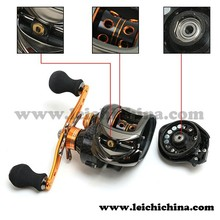 Good quality thickened aluminium side cover bait casting fishing reel