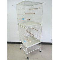 New Design Double Stacker Metal Large Bird Cage