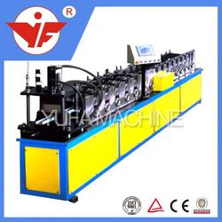power 5.5KW roofing used gutter downpout pipe cold cnc turning metal cutting and bending machine