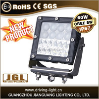 """hot new products off road 4x4 6"""" cree 60w square auto led work light for offroad, jeep, truck, automobile spare parts"""