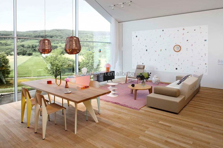 designer de bonne qualit de table jean prouv tableau em r plique moderne table manger table. Black Bedroom Furniture Sets. Home Design Ideas
