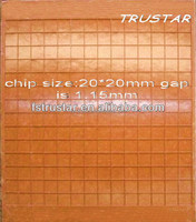 Square Mosaic Tile Grids Hot sale Plastic Mosaic Mounting Grid,Refractory Brick for Glass and Ceramics,Colors Pigments for Glass