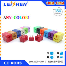 Leishen Brand 2015 the cheapest travel plug import gift items from china for advertising gift ideas