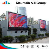 P16 Outdoor Advertising Full Color Electronic Led Video