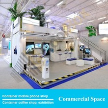 Used container mobile mall kiosk ideas design, shopping mall kiosk for cell phone showcase display