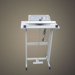 Normal type pedal plastic container sealer