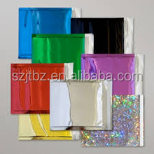 Smell proof ziplock aluminium foil bag recycle aluminium foil cooler bag aluminium moisture barrier bag