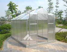 Modern home design gardening aluminium polycarbonate green room grow tent