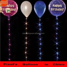 Latex led balloons wholesale with customized logo