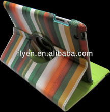 360 rotating magnetic leather case for ipad 4 ipad 3 ipad 2 iridecent smart cover best wholesale