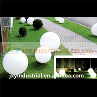 wholesale D20cm RGB rechargeable color plastic waterproof decoraTION novelty led crystal ball
