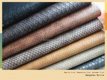 Alligator Design PVC Leather For Bag Fabric