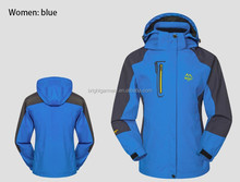 wind stop hike jacket for men and women,couples camping wear