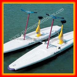 China Amusement Equipment Manufactuer Water Sports Riders Water Bike for sale