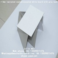 1.5mm white card paper with white core