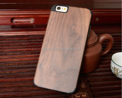 2015 new products ultra thin PC+Wood Bamboo Wooden cover wood case for iphone 6 case made in china