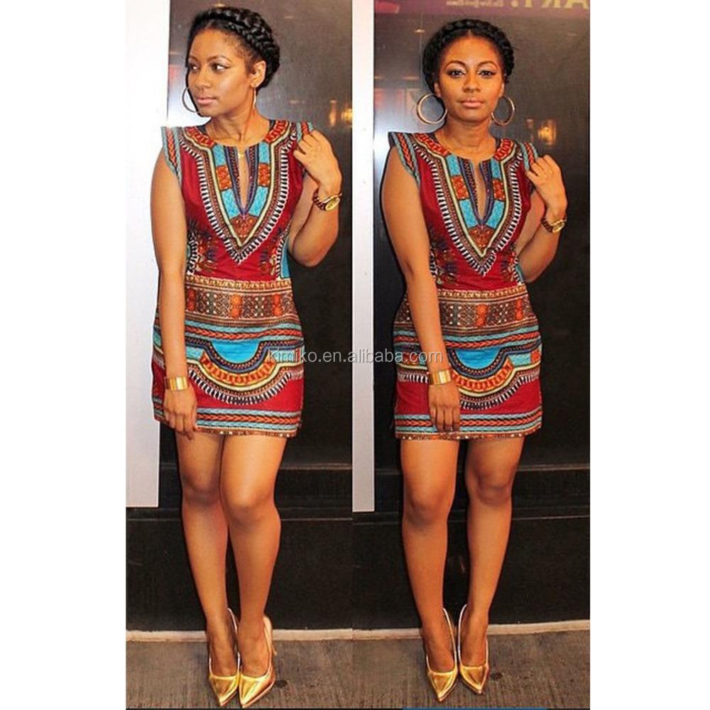 Factory Price Fashion Traditional African Dashiki Print Dress Bodycon For Women Buy Dashiki