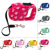 Pet Product Dog Retractable Leash with Lovely Footprint Leash for 3M Length