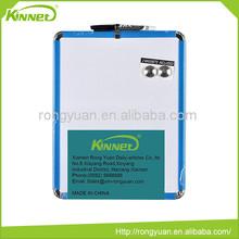 New blue plastic frame slotted magnetic flexible whiteboard