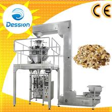Automático de pesaje granola máquina de embalaje