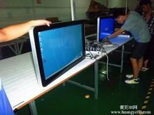 21.5'' high resolution touch monitor, true flat, wall mount, desktop optional