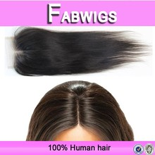 Fabwigs 8a grade new product virgin remy malaysian cheap lace front closure with baby hair