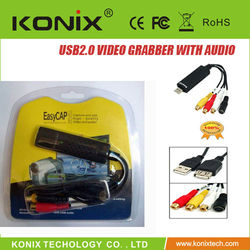 Hi-Speed USB 2.0 Audio/Video Grabber