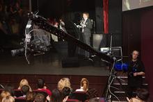Andy 20KG Max payload portable light weight camera crane, professional MTV Video shooting camera jib.