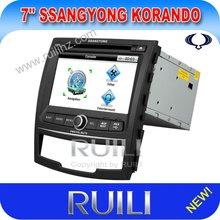 2012 Hot sell Korando GPS with DVD/ipod/bluetooth