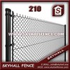 Anping Lowes Chain Link Fence Prices /black Vinyl Coated Chain Link Fence