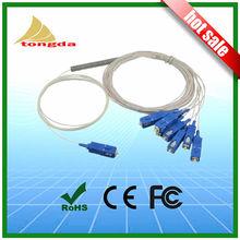SC FC LC Fibre optic splitter plc1x2 1x4 1x8 1x16 Mini PLC Splitter