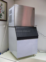 Fresh water flake ice maker/ice making
