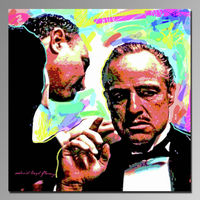 Most popular movie star pop art hand made oil painting on canvas( portrait)