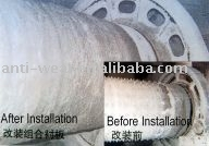 Boltless Mill Liners Casting Products for Coal Mill, Cement Mill,Mine Mill