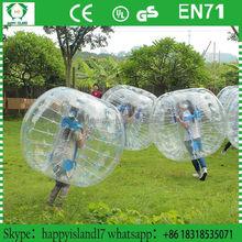 Durable popular Dia1.2/1.5m bubble football ,giant bubble ball,crazy loopyballs