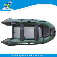 2015 fábrica de China alta calidad aerodeslizador bote inflable