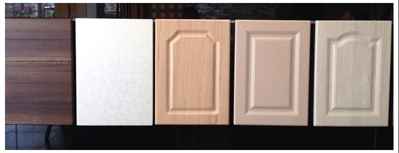 Pvc Cabinet Doors : High gloss laminate indian kitchen cabinets ak buy