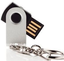 wholesale super mini usb stick with keychain