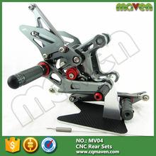 Wholesale CNC Adjustable Racing Bracket Motorcycle Rear Foot Pegs For Yamaha R25 R3