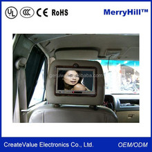 China Wholesale Small Super 7 TFT LCD Monitor 12 Volt For Car PC, Taxi Advertising, Bus Headrest