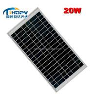 High power 5w 20w 30w 40w cheap price pv solar panels for traffic application