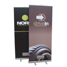 economical roll up banner stand