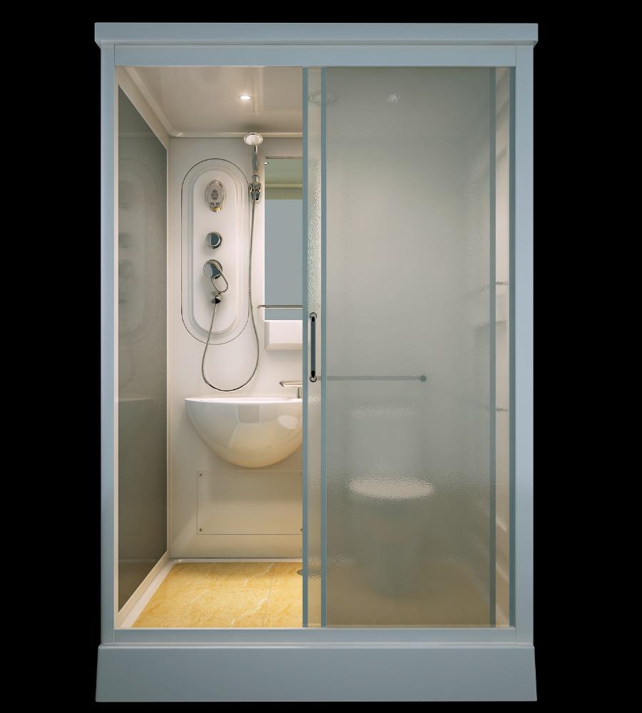 China supplier sunzoom prefab bathroom shower prefab for Modular bathroom