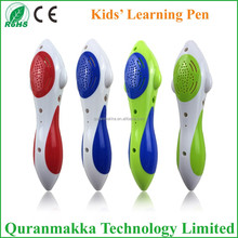 2014 new good quality electronic talking toys for kids learning pen