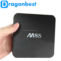 In Stock/New Arrival M8S Android Smart Tv Box M8S Amlogic S812 2G+8G Xbmc Dual Wifi Full Hd Android 4.4 Quad Core Media Player